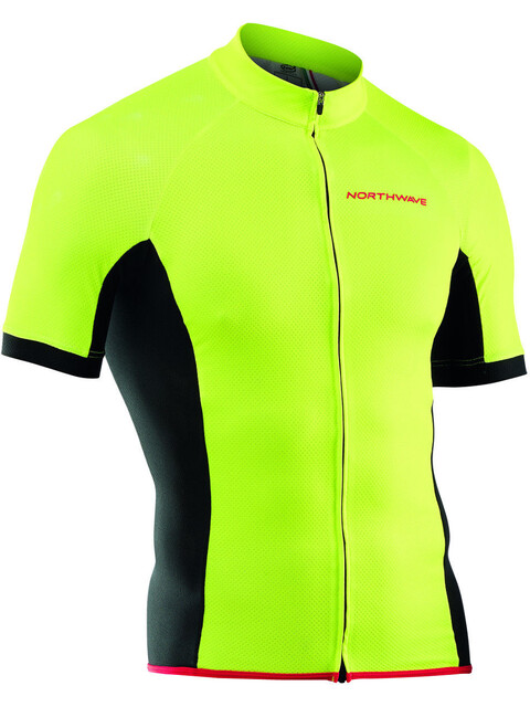 Northwave Force Jersey SS Men yellowfluo
